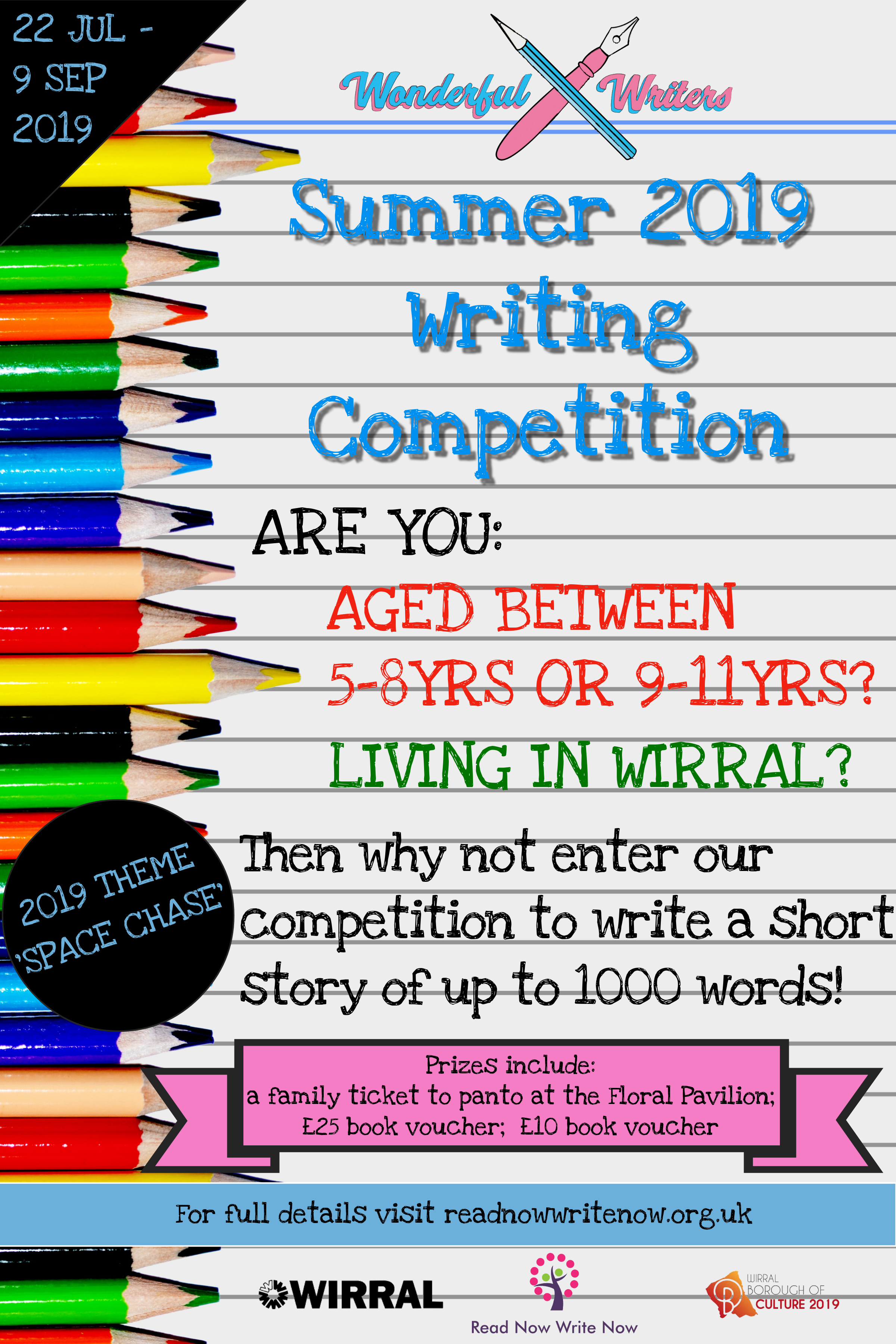 Wonderful Writers Competition
